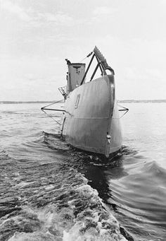 U-Boat ~ German U-Boat in the Water ~ BFD