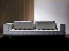 SECTIONAL UPHOLSTERED LEATHER SOFA INSULA COLLECTION BY I 4 MARIANI | DESIGN LUCA SCACCHETTI