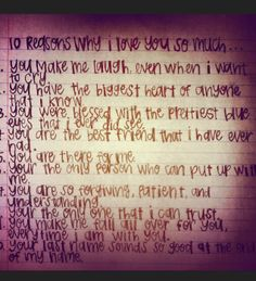 15 reasons why i love him