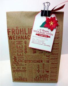 15min Weihnachten, Shops, Homemade Gifts, Paper Shopping Bag, Blog, Etsy Shop, Christmas, Decor, Letters