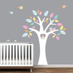 vinyl wall decals children decals with owls birds by Modernwalls, $99.00