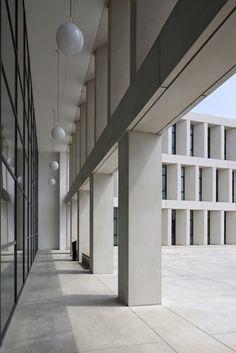 Hospital AZ Groeninge by Baemschlager Eberle Architects