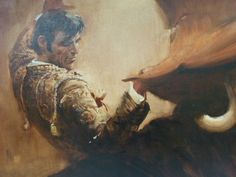 Rico Tomaso Bull Fight, DAC Collection - Donald Art Company Collection