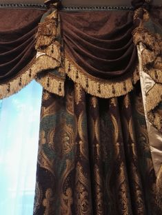 Ulinkly is for Affordable Custom-made Luxurious Window Curtains Balloon Curtains, Window Curtains, Living Room Decor Curtains, Window Dressings, Curtain Designs, French Doors, Balloons, Campaign, Windows