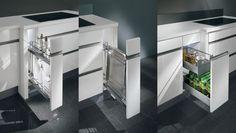 Muebles totalmente extraíble. Ideal para espacio pequeños.