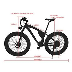 Ninja RT012 Electric Mountain Bike Snow & Beach Bicycle Fat Tire with Lithium Battery and Battery Charger, Front Suspension, Pedal Assist and Throttle http://coolbike.us/product/ninja-rt012-electric-mountain-bike-snow-beach-bicycle-fat-tire-with-lithium-battery-and-battery-charger-front-suspension-pedal-assist-and-throttle/