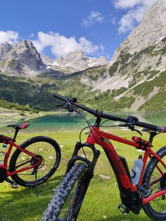 Seen, Bicycle, Vehicles, Zugspitze, Mountain Range, Paradise, Road Trip Destinations, Bicycle Kick, Bike