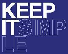 Simple.