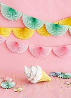 Soft Serve Ice Cream Cone Pinata - A Z - Soft Serve Ice Cream Cone Pinata soft serve ice cream cone piñata - Party Box, Pinata Party, Party Props, Party Party, Ice Cream Theme, Ice Cream Party, Diy Arts And Crafts, Crafts For Kids, Paper Crafts