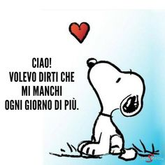 Snoopy The Dog, Snoopy And Woodstock, Miss You Mom, Mom And Dad, Persona, Cant Stop Loving You, Italian Quotes, Cute Illustration, Betty Boop