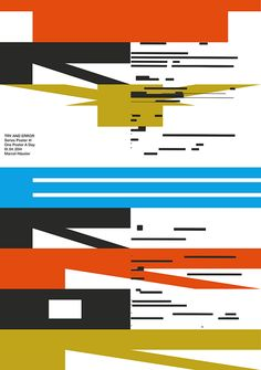 One Poster A Day — April 2014 on Behance