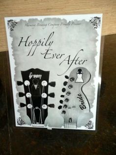 The only thing you'll ever need to read about a wedding program booklet.