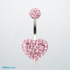Tiffany Inspired Heart Multi-Gem Belly Button Ring #jewelry #piercing #bellyring…