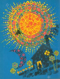 Sally Go Round the Sun collected and edited by Edith Fowke, illustrated by Carlos Marchiori