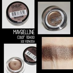 MichelaIsMyName: MAYBELLINE Color Tattoo 102 Fantasy REVIEW