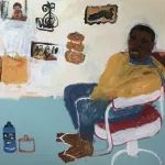 gallery | Emma Gale Artist Barbershop Design, Barber Shop, Hibiscus, Gallery, Artist, Painting, Diy, Pictures, Roof Rack
