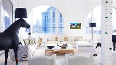 Home Tour: Designer Ghislaine Vinas // living rooms