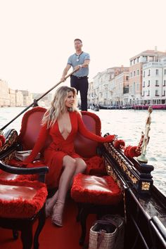 Everyday since my last trip to Italy I have been eagerly waiting to return and I am not exaggerating, at all! So happy to be back in my favorite place in the Venice Travel, Italy Travel, Boat Girl, Natasha Oakley, Different Shades Of Red, Beautiful Red Dresses, Summer Photos, Vacation Outfits, Red Fashion