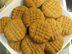 Peanut Butter Cookies (that I can eat!) | Above Hoarded Gold
