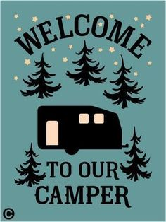 Enjoy Yourself While Camping With These Tips. Prepare yourself to learn as much as you can about camping. Camping offers an excellent opportunity for your family to share an adventure and bond, as well Camping Glamping, Outdoor Camping, Camping Trailers, Rv Trailers, Camping Crafts, Camping Hacks, Camping Ideas, Camper Signs, Stencil Material