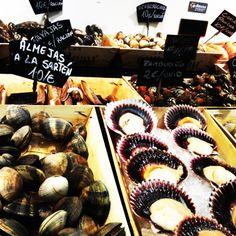 Food Market Madrid, Spain