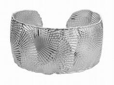 Gem of a Gift Idea #15: Sterling Silver Escala Cuff Bracelet.  $295 (Seven Fields)   Moses Jewelers | | 7f-256297