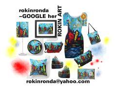 """RokinRonda Design"" by artist-rhonda ❤ liked on Polyvore featuring art"