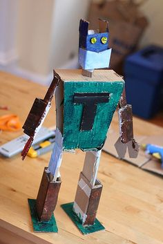 T's Robot | Flickr - Photo Sharing!