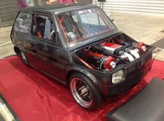 Fiat 126 with a twin-turbo Holden 5.0L V-8