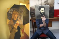 sleeveface. LOVE this!