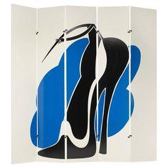 Check out Allen Jones, Kazuhide Takahama, folding screen (from the Ultramobile series) From Wright Allen Jones, Artwork Images, Screen Design, Modern Armchair, Silk Screen Printing, Art Furniture, Pop Art, Artsy, Things To Sell