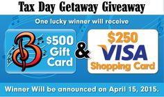 Win A $250 Visa Gift Card + A $500 BransonShows.com Gift Certificate! Value:  $750.00 Expires:  Apr 14, 2015 Eligibility:  United States | 18+