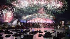 2016 pede passagem: As comemorações do ano novo ao redor do planeta - BBC Brasil