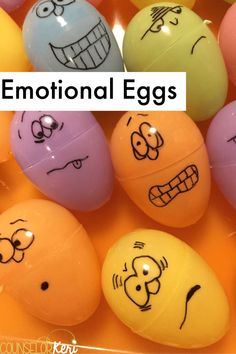 Grab some easter eggs, and you've got tons of spring counseling activities! Your students will love these activities and lessons that are perfect for small groups, individuals, or classroom guidance.