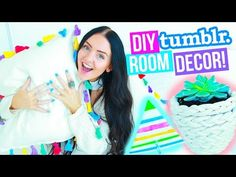 DIY ROOM DECOR! Tumblr and Pinterest Inspired! (Easy and Affordable) 2016! - YouTube
