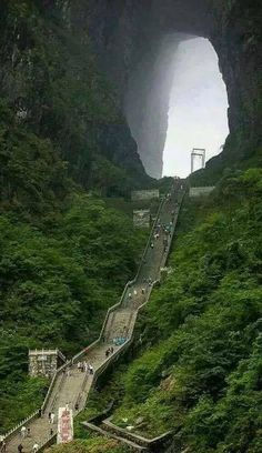 Beautiful Picture Of The Day From Heaven's Gate in China Beautiful Places To Travel, Beautiful World, Cool Places To Visit, Places Around The World, Around The Worlds, Travel Photographie, Lord Shiva, Abandoned Places, Amazing Nature