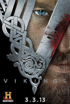 #Vikings (History) season 1 poster