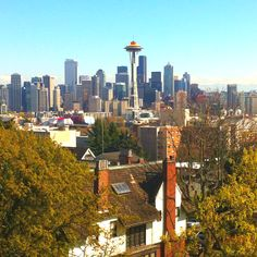 Kerry Park in Seattle.