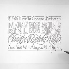 example of quotes Creative Lettering, Lettering Styles, Lettering Design, Calligraphy Letters, Typography Letters, Graphic Design Typography, Hand Lettering For Beginners, Fancy Letters, Tips & Tricks