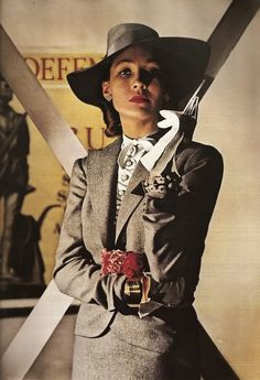 The Women s Fashion Photography by Louise Dahl-Wolfe ~ vintage everyday e25b3b3d6809