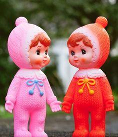Popje Woodland doll roze
