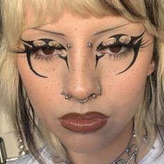 Punk Makeup, Edgy Makeup, Grunge Makeup, Gothic Makeup, Eye Makeup Art, Fairy Makeup, Crazy Makeup, Fantasy Makeup, Pretty Makeup