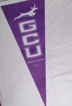 GCU Lopes Pennant Grand Canyon University Banner Arizona College #Lopes #GrandCanyonAntelopes #GCU #Collegeteam #Basketball