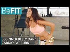 5/17/17  Belly Dance Workout for Beginners: Cardio Fat Burn- Leilah Isaac - YouTube