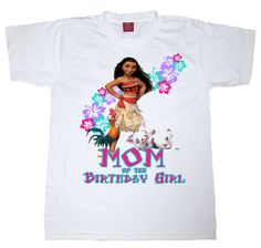 Family pack moana birthday shirt by WishesandkissesCo on Etsy