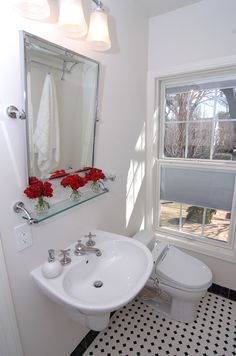 Black And White Bathroom Highland Park Arcady Bathroom Renovations Kitchen Design Concepts
