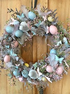 Easy DIY Easter Wreath Ideas to Transform Your Front Door Easter Wreaths, Christmas Wreaths, Diy Wreath, Wreath Ideas, Snowman Wreath, Easter Crafts For Kids, Easter Ideas, Bunny Crafts, Easy Diy