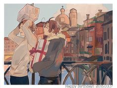 Hetalia - Spain / Romano RE: Umm.. It's not that Italy and Romano? Spain doesn't have that curl..