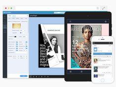 Interactive Digital Publishing Platform for Magazines, Catalogs, and Flip Books, Flip Book Maker, Photo Slider, Digital Textbooks, Online Lessons, Catalogue, Teaching Tools, Software Development, Platform