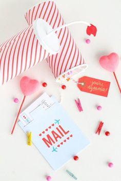 DIY You're Dynamite Valentines | Sugar & Cloth